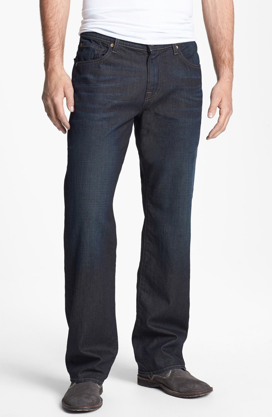 Alternate Image 2  - 7 For All Mankind® 'Austyn' Relaxed Fit Jeans (Amber Night)