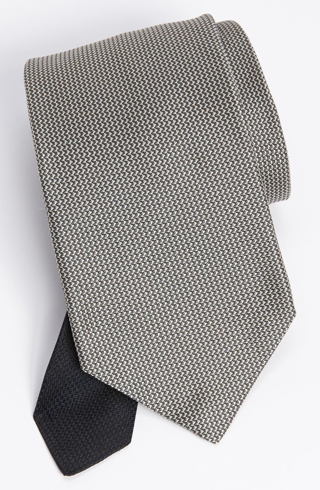 Alternate Image 1 Selected - John W. Nordstrom® Woven Silk Tie (Tall)