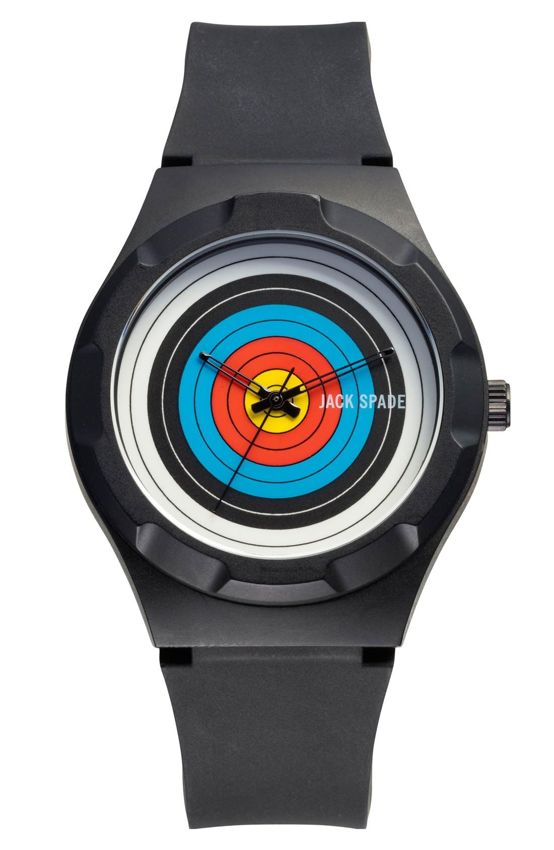 Alternate Image 1 Selected - Jack Spade 'Graphic - Archery' Round Watch, 38mm