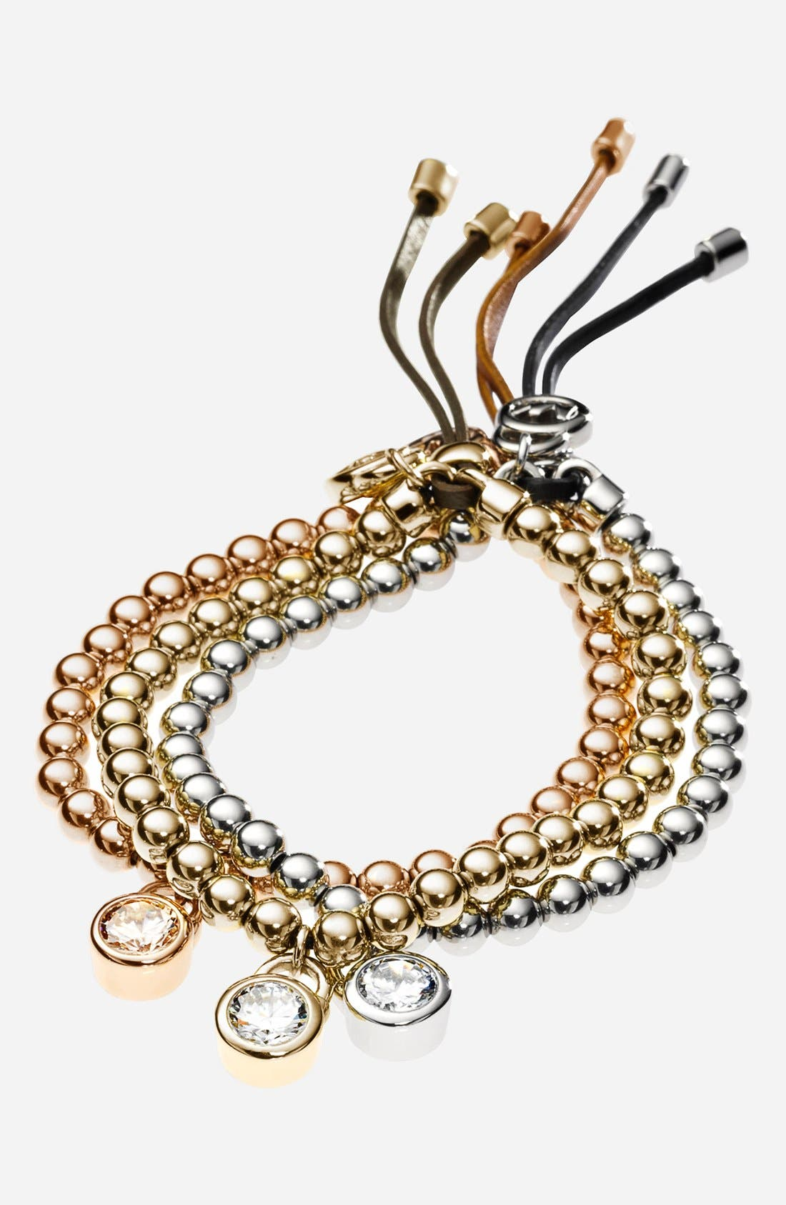 Alternate Image 2  - Michael Kors 'Brilliance' Beaded Stretch Bracelet