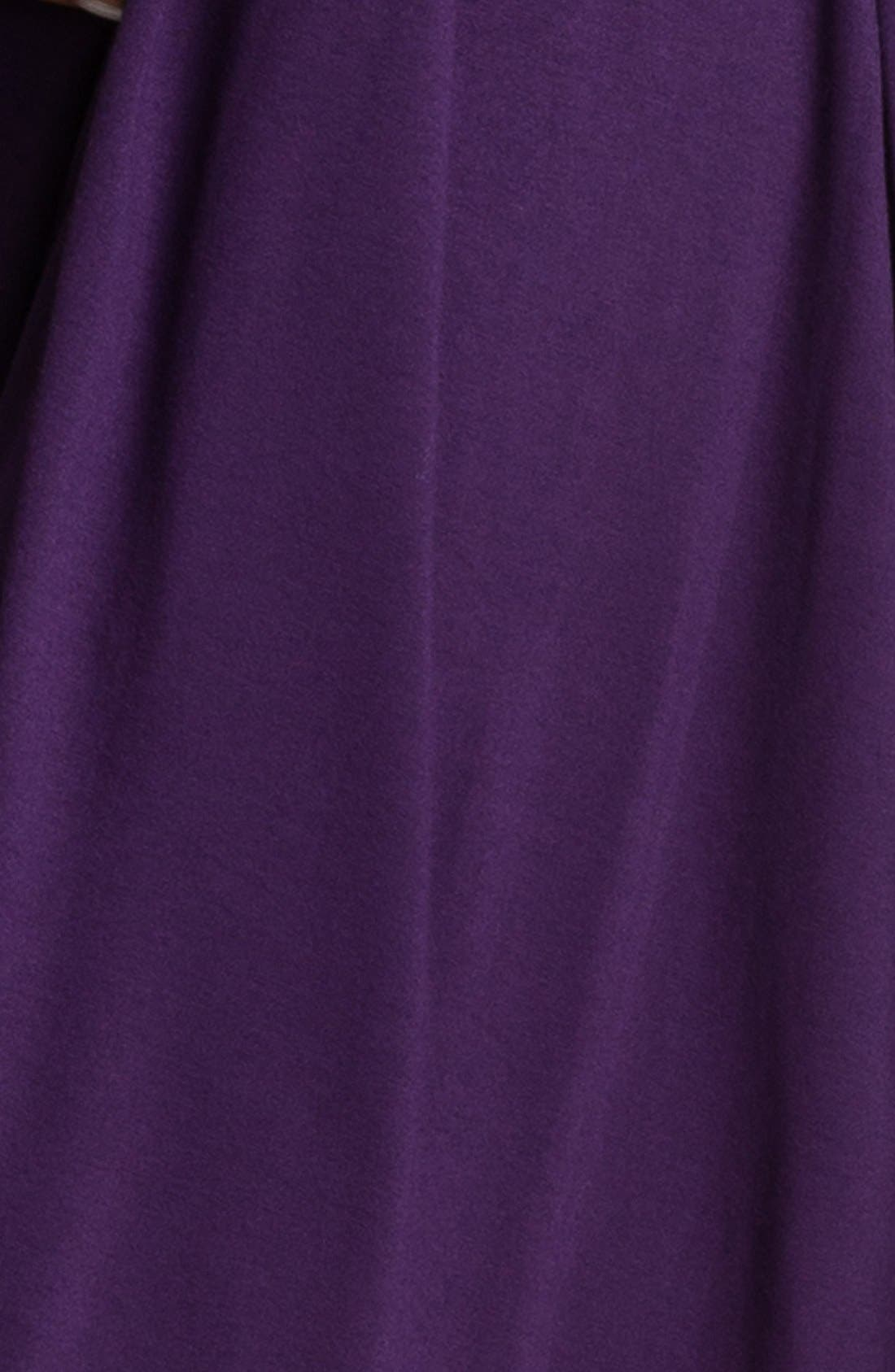 Alternate Image 3  - Olian 'Lucy' Draped Stretch Knit Maternity Dress