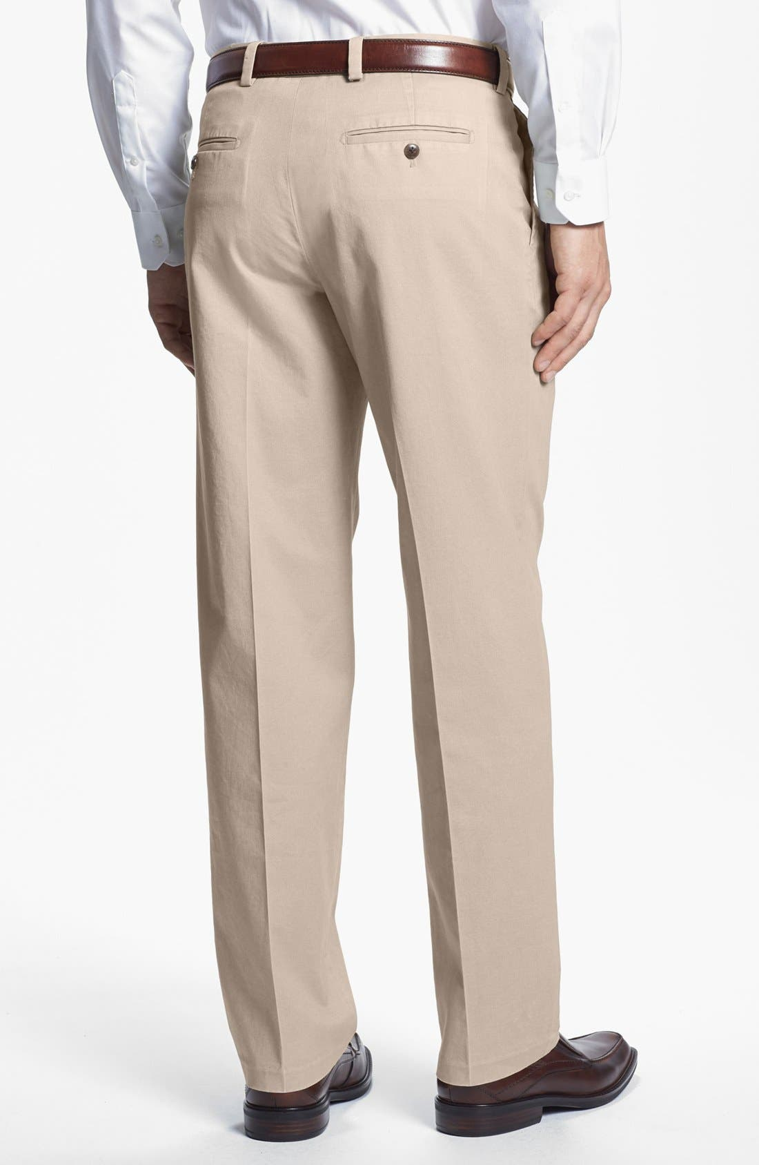 Alternate Image 2  - Nordstrom Smartcare™ Double Pleat Pants