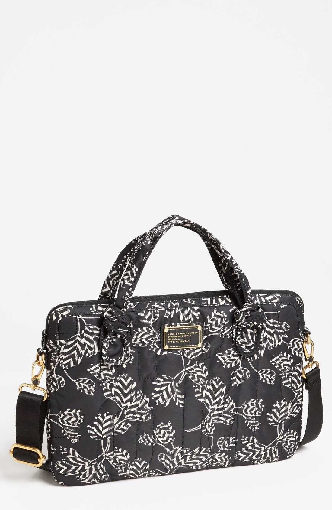 Main Image - MARC BY MARC JACOBS 'Pretty Nylon Computer Commuter - Mareika' Bag (15 Inch)