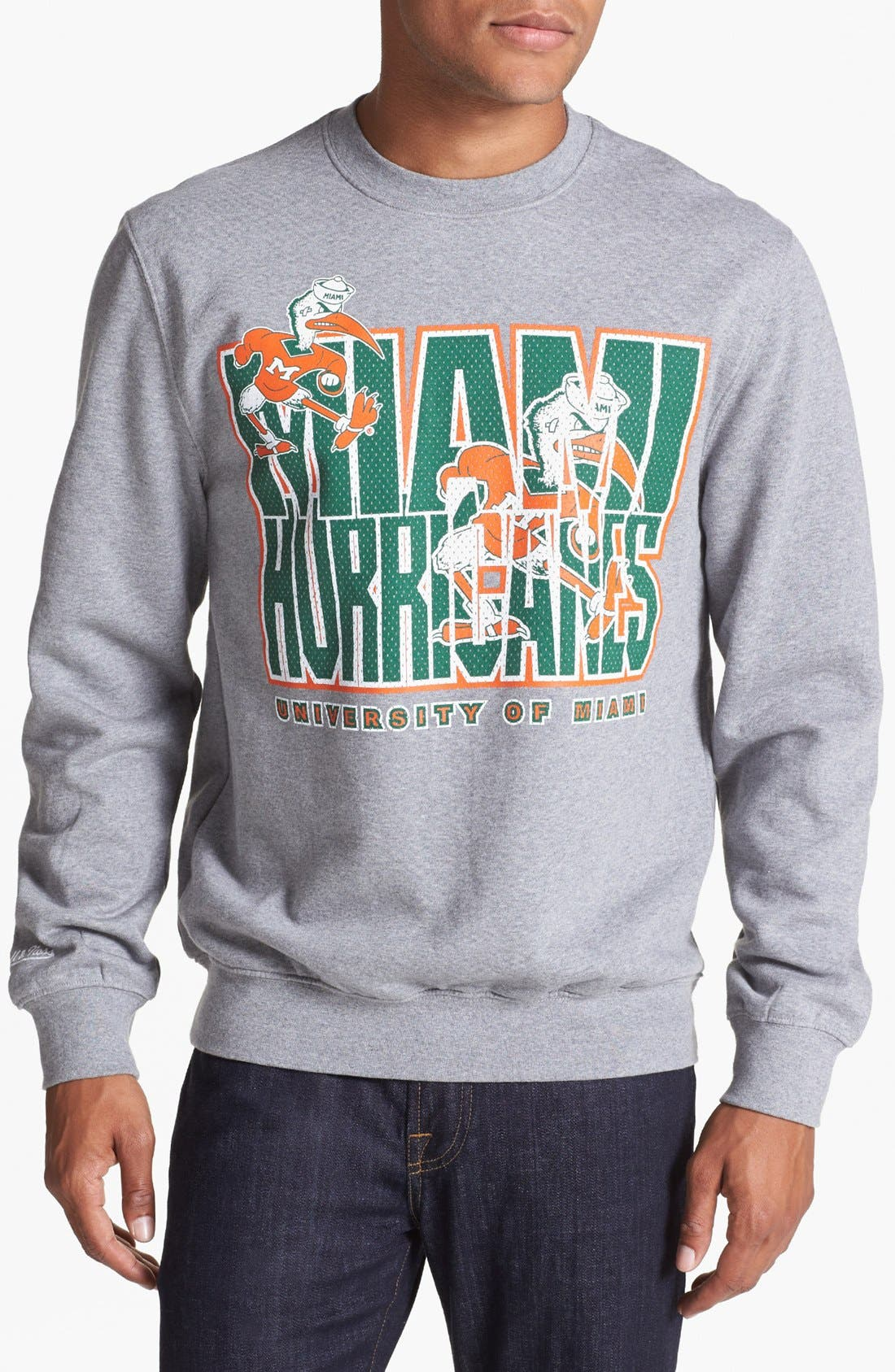 Alternate Image 1 Selected - Mitchell & Ness 'Miami' Sweatshirt