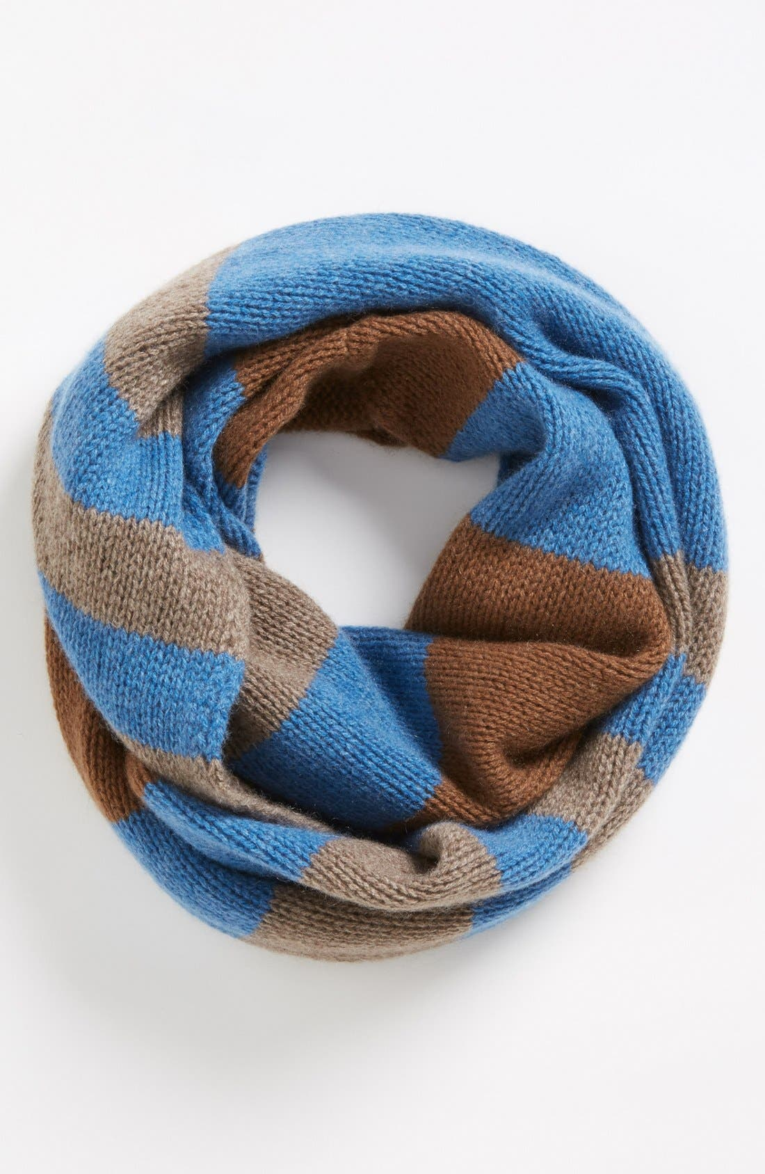 Alternate Image 1 Selected - Nordstrom Stripe Cashmere Infinity Scarf