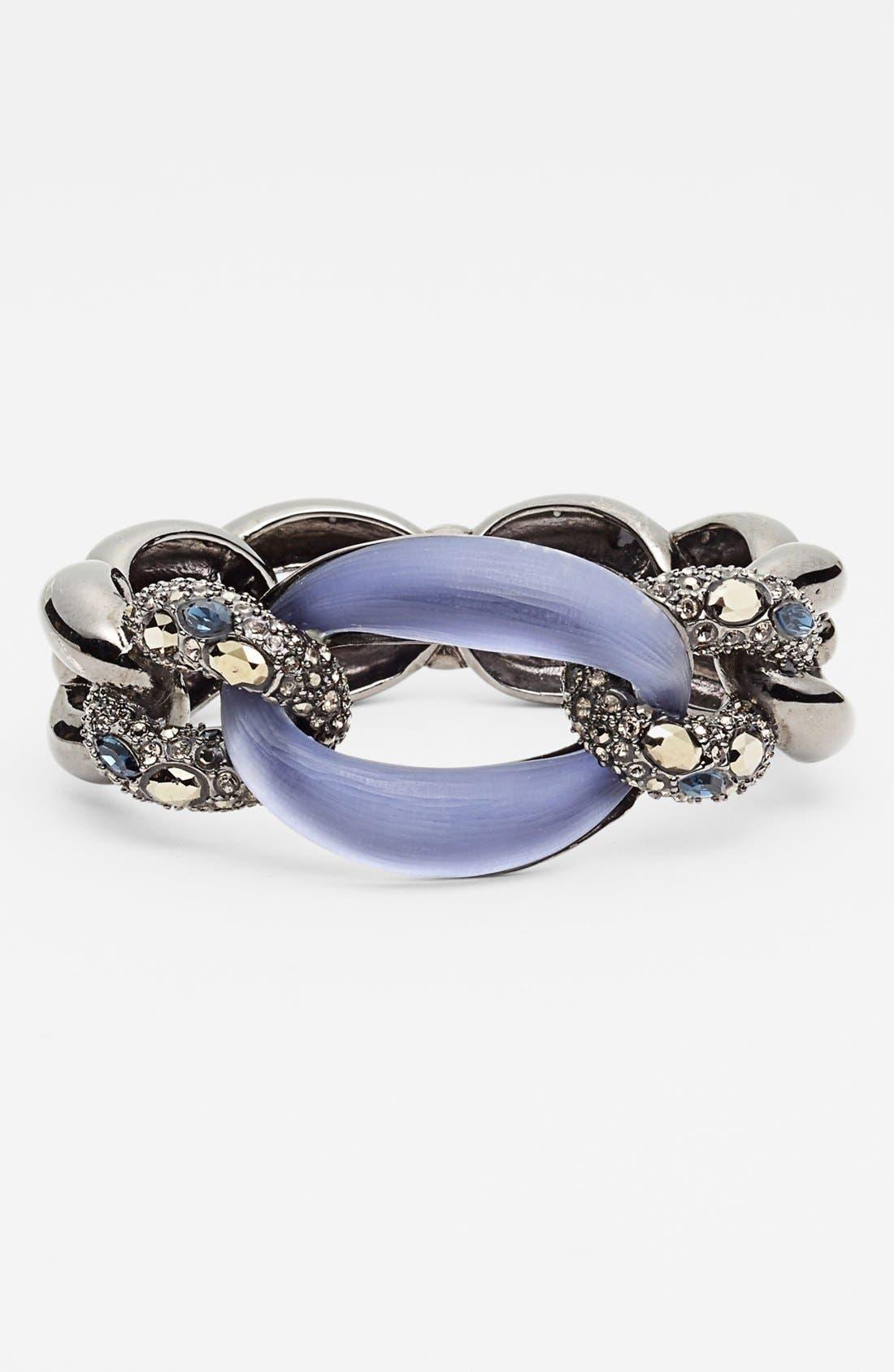 Alternate Image 1 Selected - Alexis Bittar 'Lucite® - Neo Bohemian' Link Hinged Bracelet