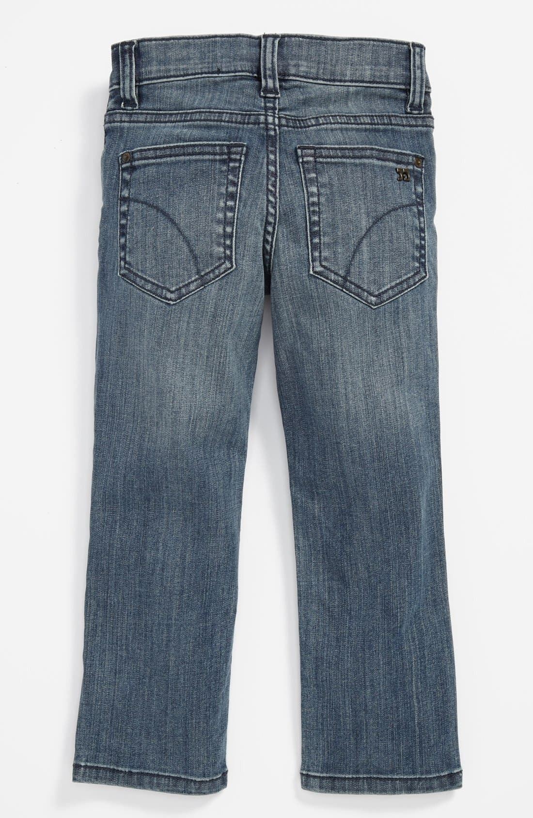 Alternate Image 1 Selected - Joe's 'Brixton' Straight Leg Jeans (Toddler Boys)