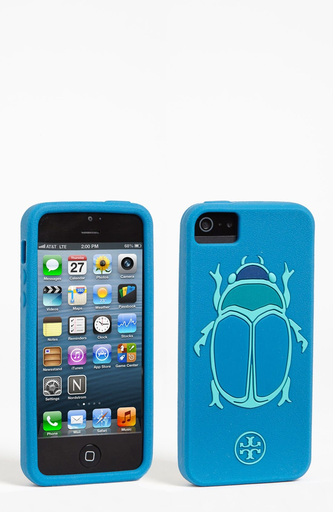 Main Image - Tory Burch 'Scarab' iPhone 5 Case