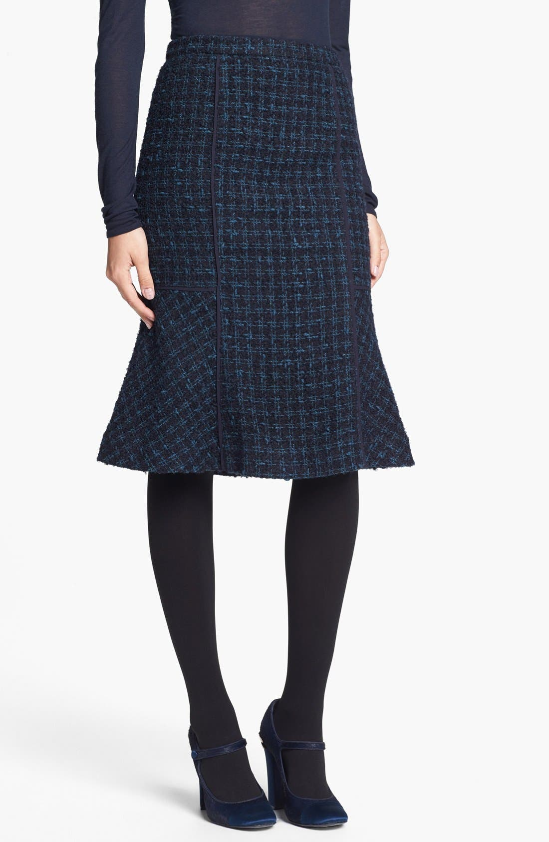 Alternate Image 1 Selected - Tory Burch 'Sloane' Tweed Skirt