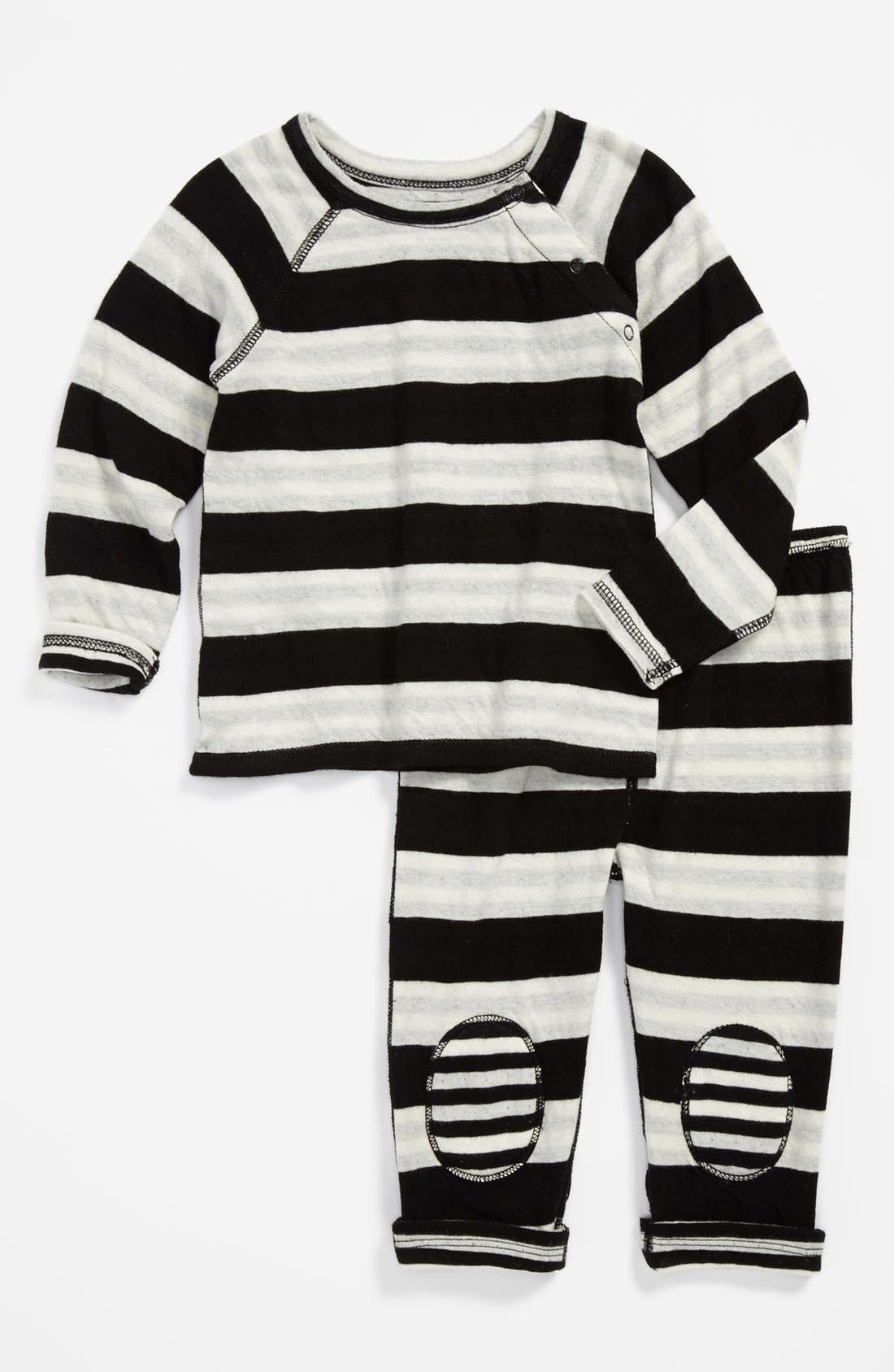 Alternate Image 2  - Nordstrom Baby T-Shirt & Pants (Baby)