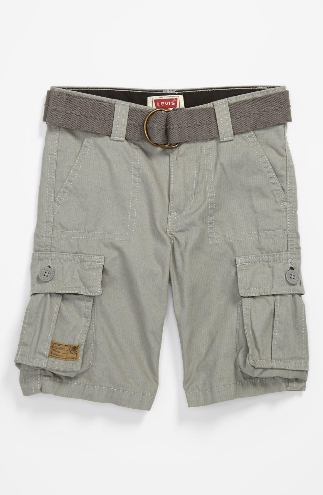 Alternate Image 1 Selected - Levi's® 'Maverick' Cargo Shorts (Toddler Boys)