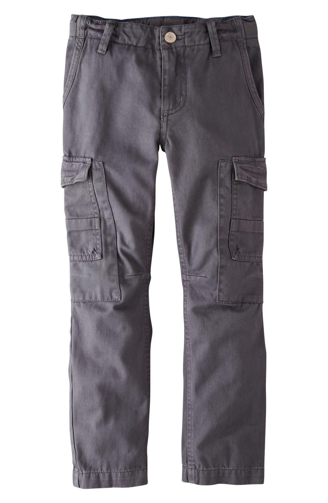 Alternate Image 1 Selected - Mini Boden Slim Fit Cargo Pants (Toddler Boys, Little Boys & Big Boys)