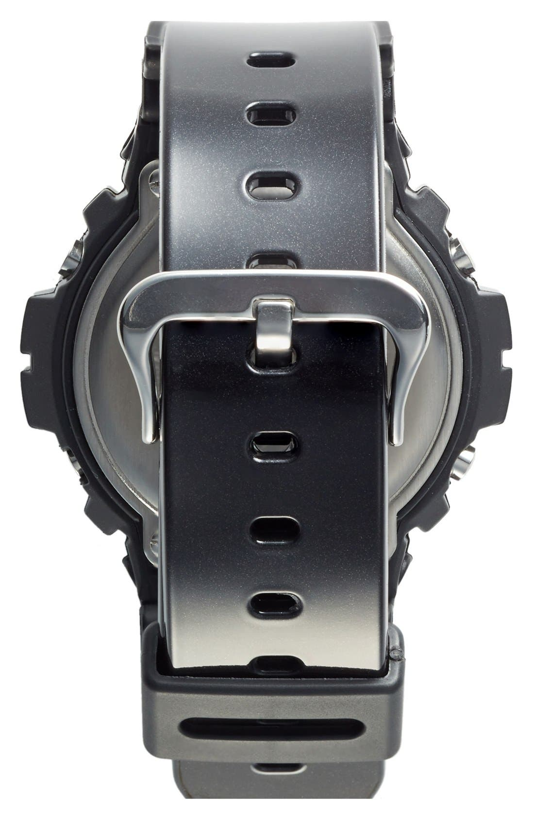 Alternate Image 2  - G-Shock Metallic Dial Watch, 53mm x 50mm