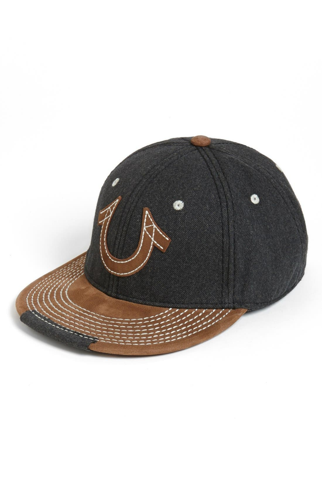 Main Image - True Religion Brand Jeans 'Horseshoe' Baseball Cap