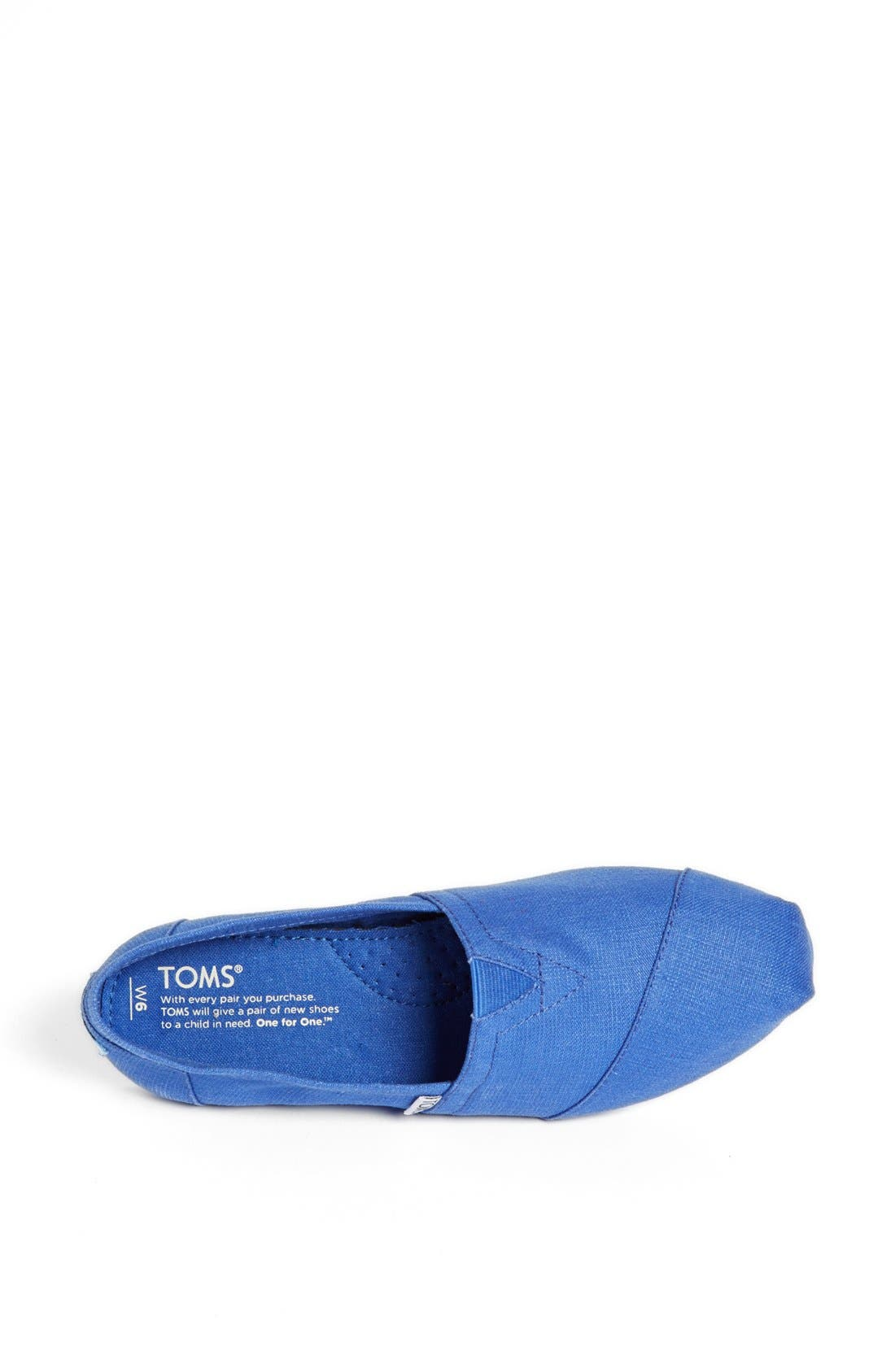 Alternate Image 3  - TOMS 'Classic - Earthwise' Vegan Slip-On (Women)