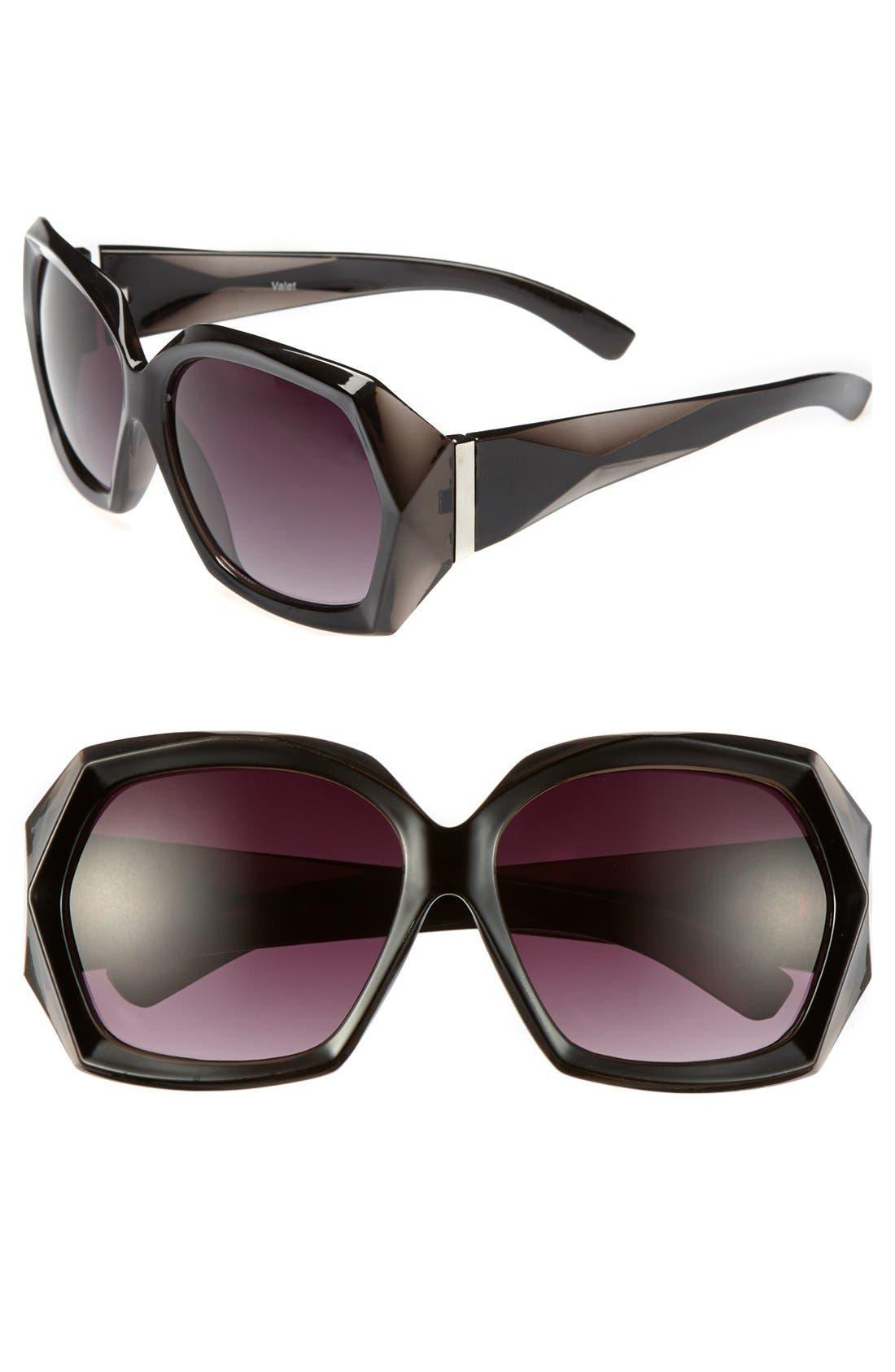 Alternate Image 1 Selected - BP. 'Nicole' Oversized Sunglasses (Juniors)