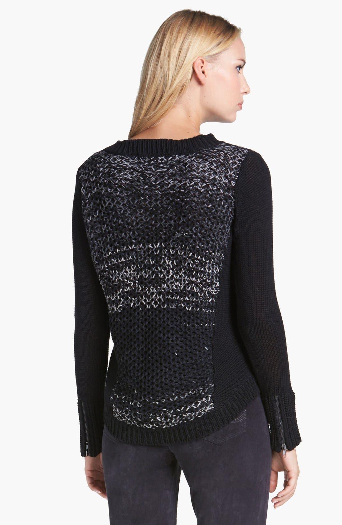 Alternate Image 2  - Curio High/Low Pullover