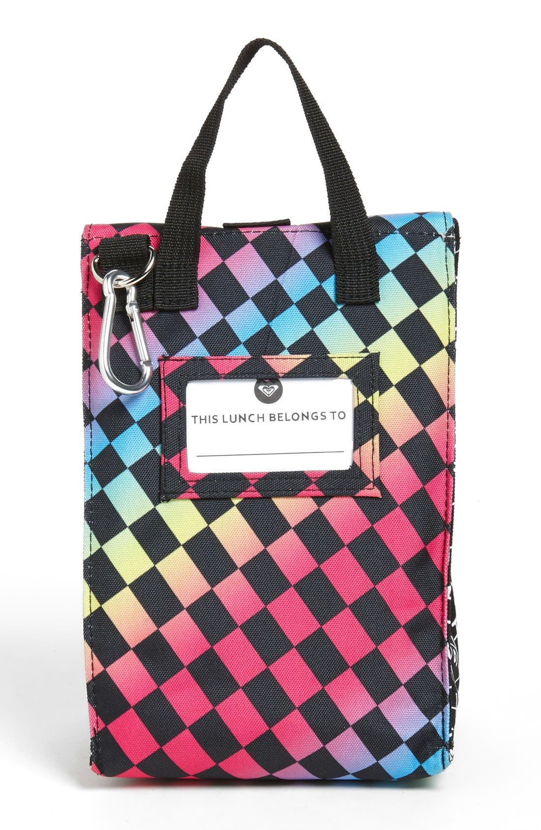 Alternate Image 3  - 'Lunch Hour' Insulated Lunch Bag (Girls)