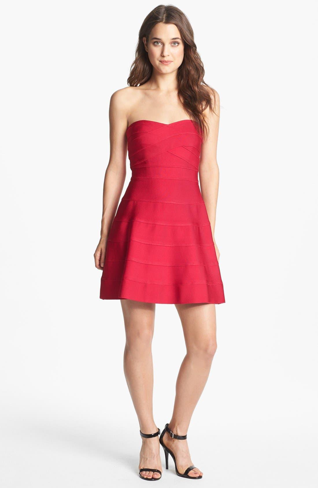 Main Image - ERIN erin fetherston 'Jane' Bandage Fit & Flare Dress