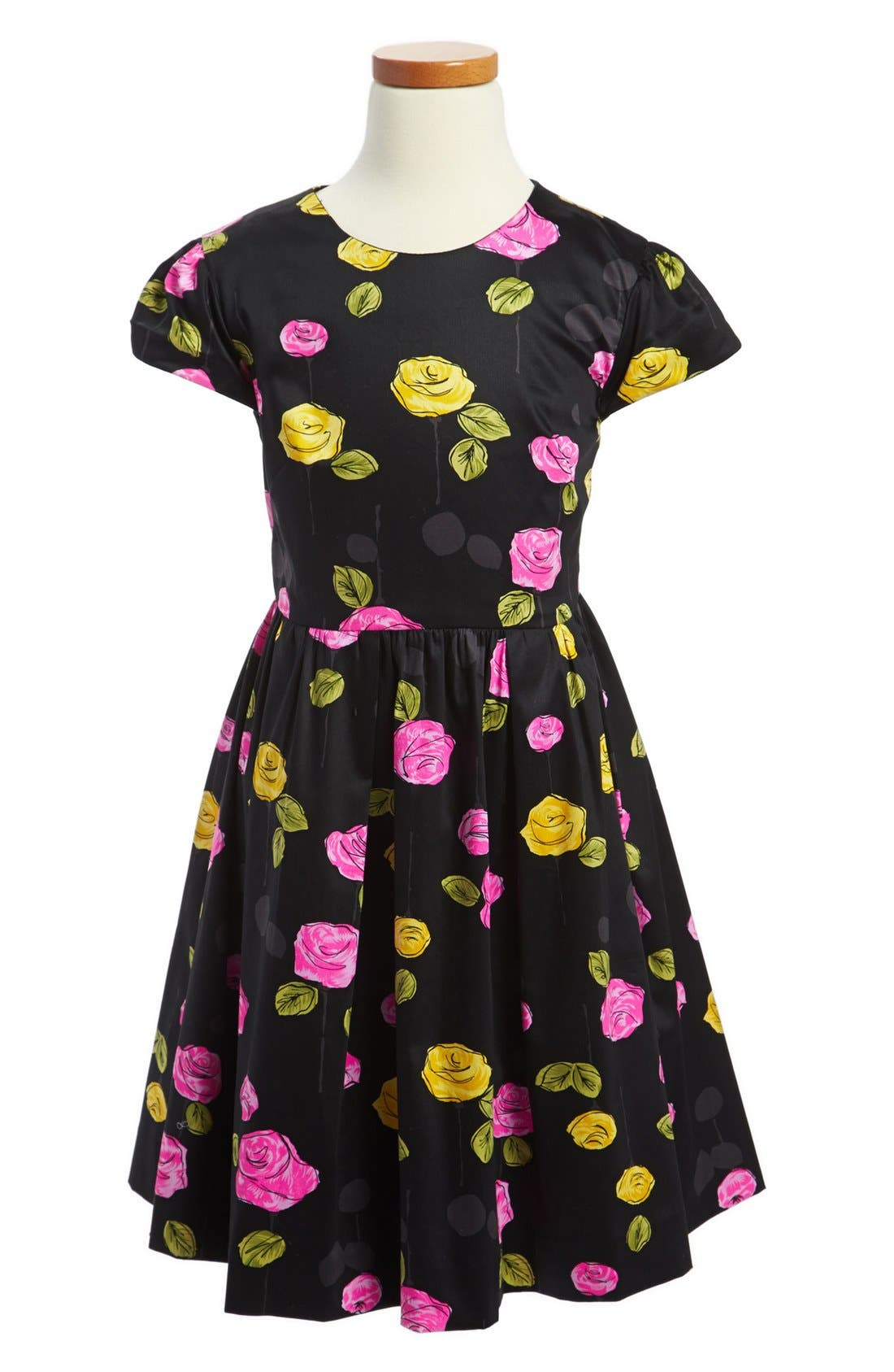 Alternate Image 1 Selected - Milly Minis 'Mischa' Dress (Toddler Girls, Little Girls & Big Girls)