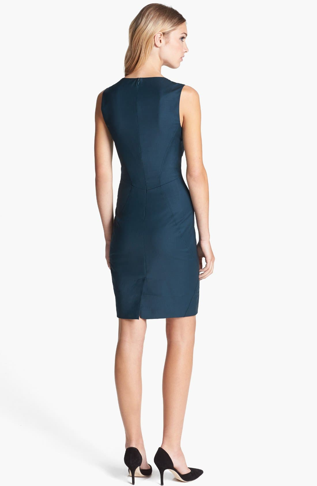 Alternate Image 2  - Ted Baker London 'Shiny Lavanta' Sheath Dress