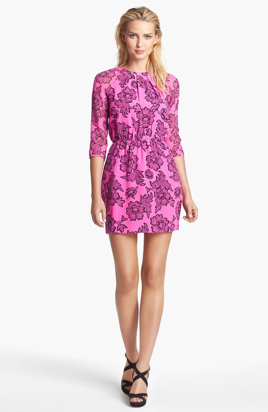 Alternate Image 1 Selected - Dolce Vita 'Badia' Print Silk Dress