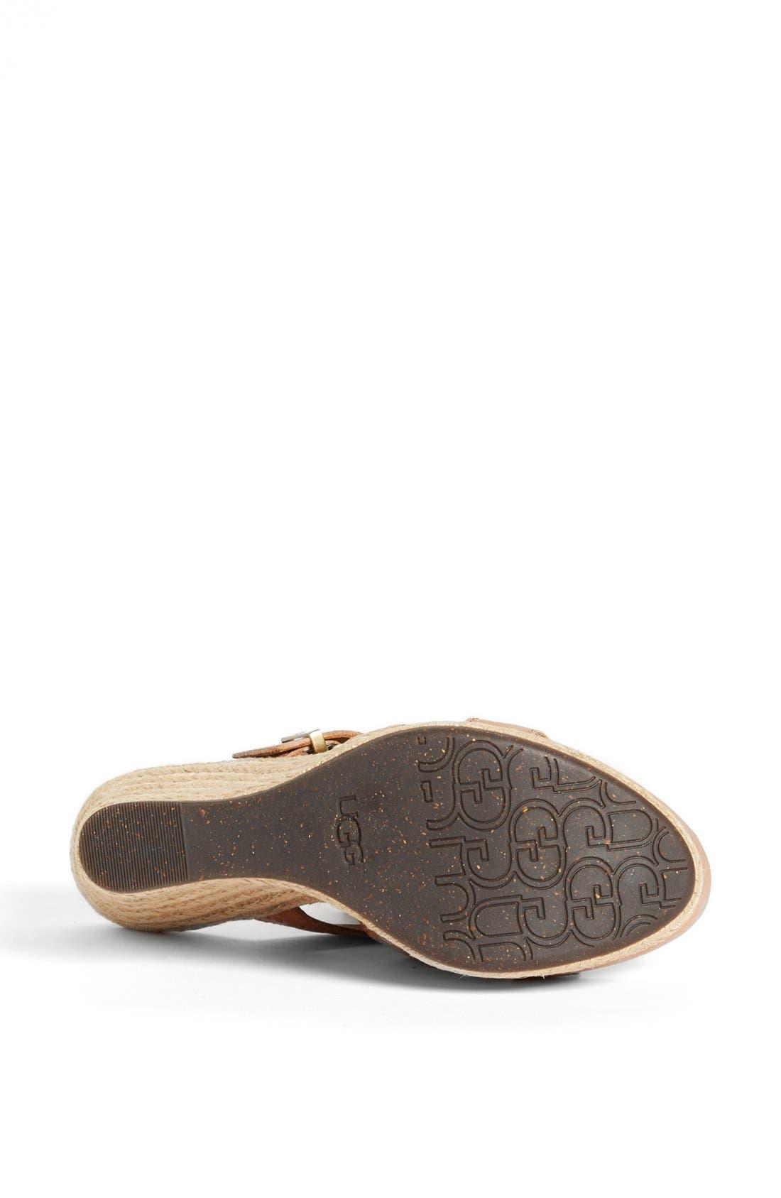 Alternate Image 4  - UGG® Australia 'Hedy' Sandal (Women)