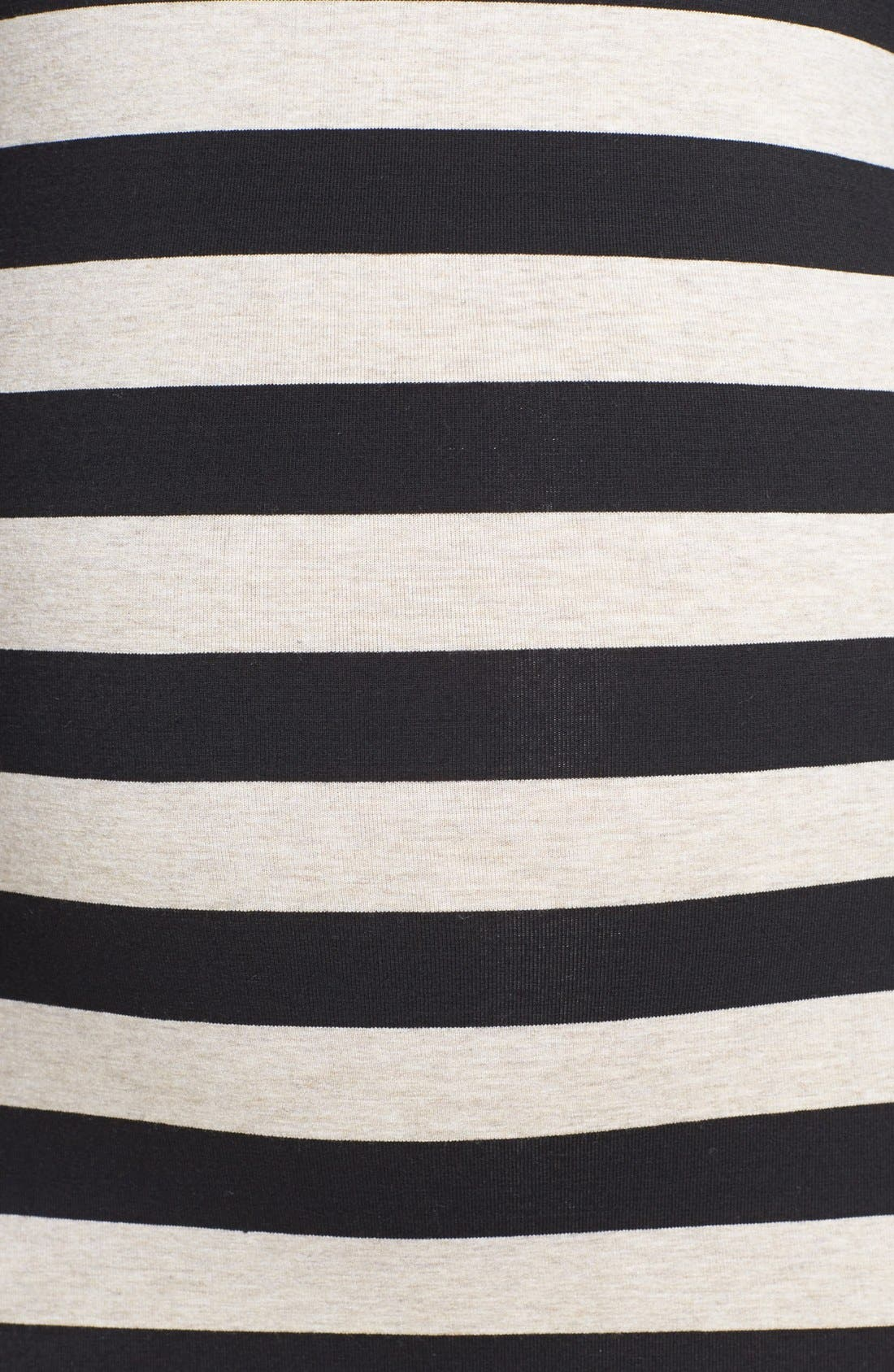 Alternate Image 3  - Nom Maternity 'Krystal' Stripe Maternity Dress