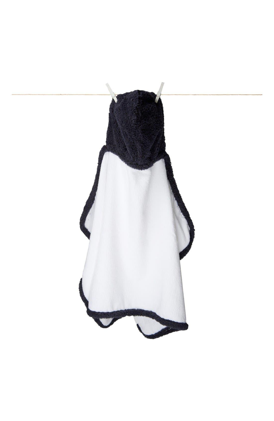 Main Image - Little Giraffe Hooded Towel (Baby Boys)