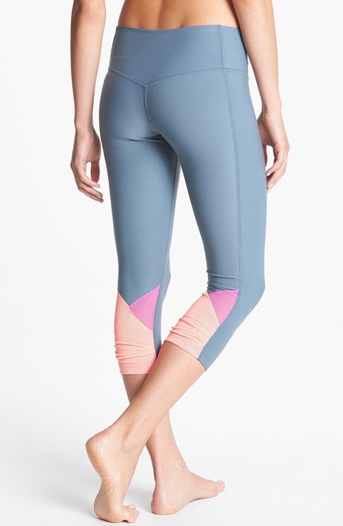 Alternate Image 1 Selected - Nike 'Legend 2.0' Low Rise Capri Leggings