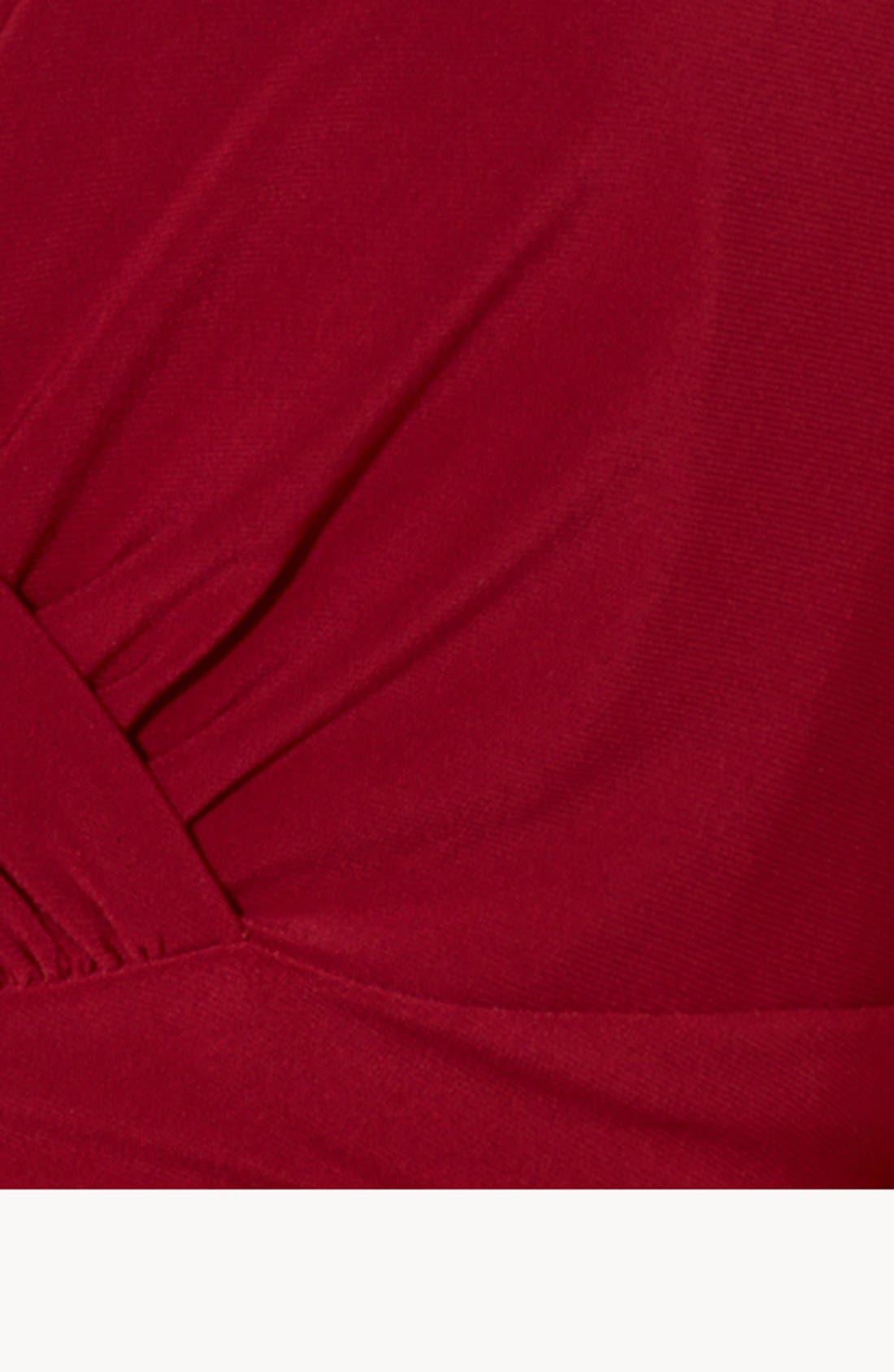 Alternate Image 3  - Lauren Ralph Lauren Empire Matte Jersey Gown