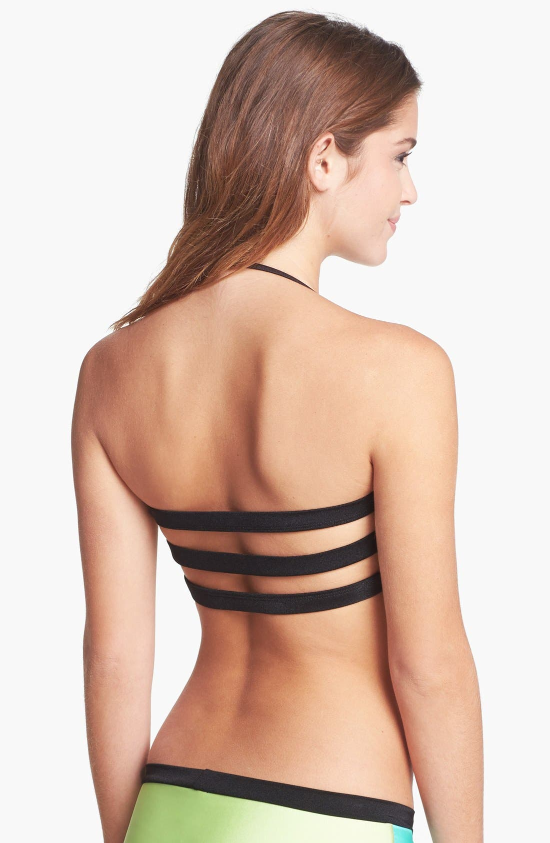 Alternate Image 2  - The Bikini Lab 'Party Blocking' Bikini Top