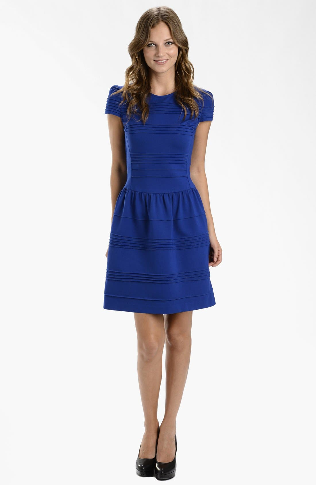 Alternate Image 3  - LABEL by five twelve Ponte Knit Fit & Flare Dress
