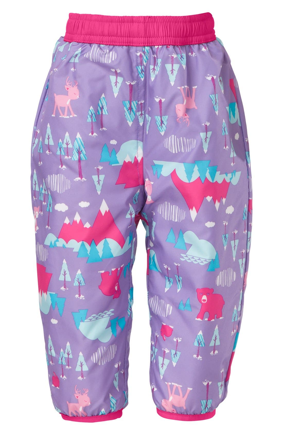 Alternate Image 2  - The North Face 'Perrito' Snow Pants (Baby Girls)