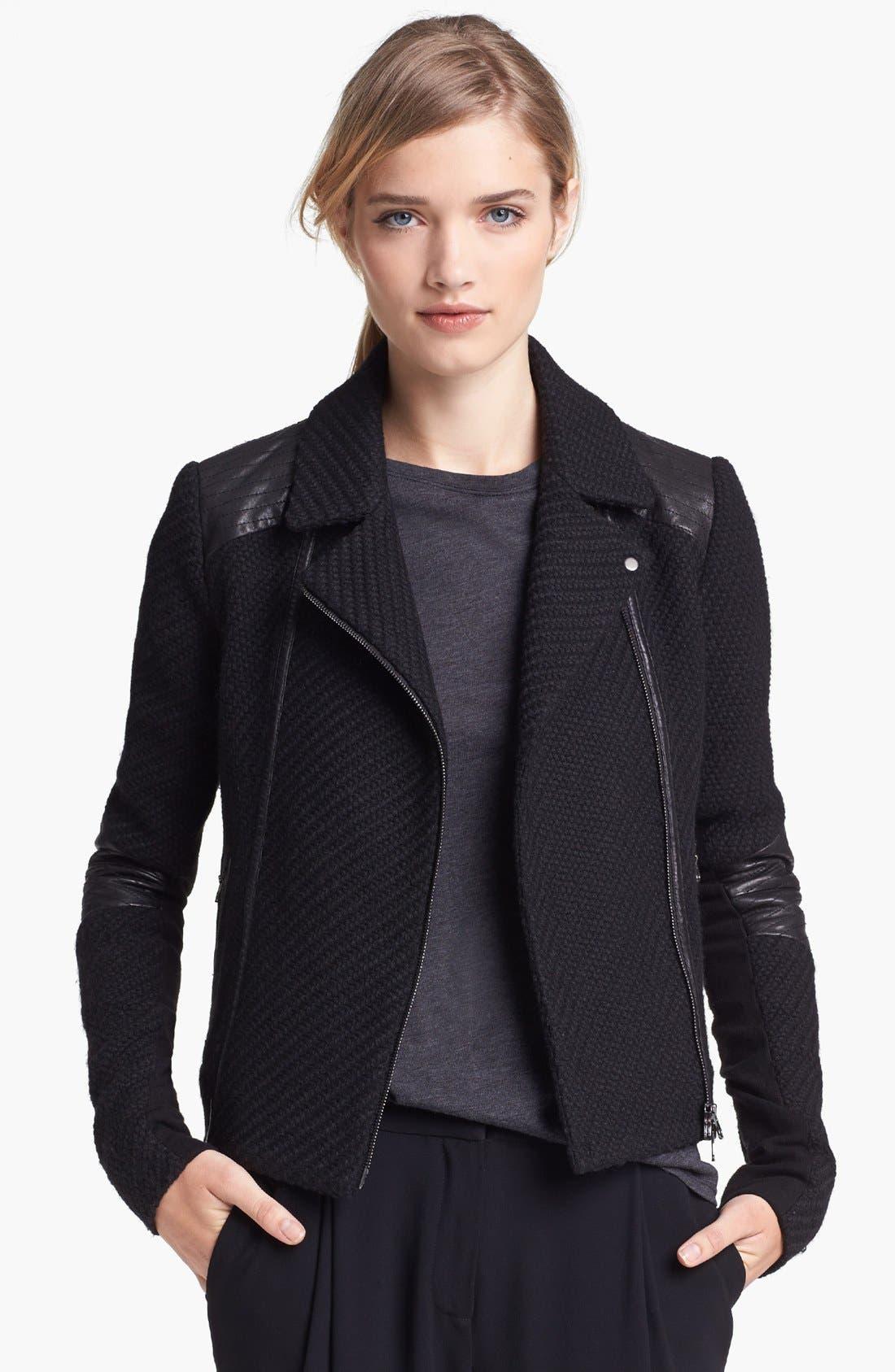 Main Image - Vince Bouclé Moto Jacket