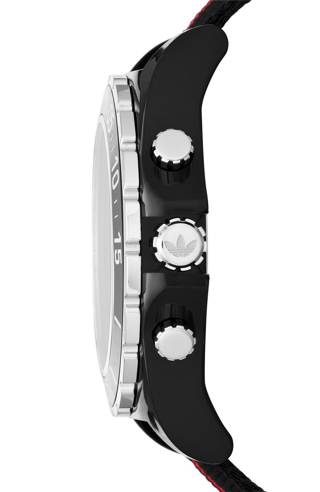 Reloj nylon de Reloj correa de nylon con cronógrafo Stockholm adidas cronógrafo Originals, 45 mm 4dc0012 - hvorvikankobe.website