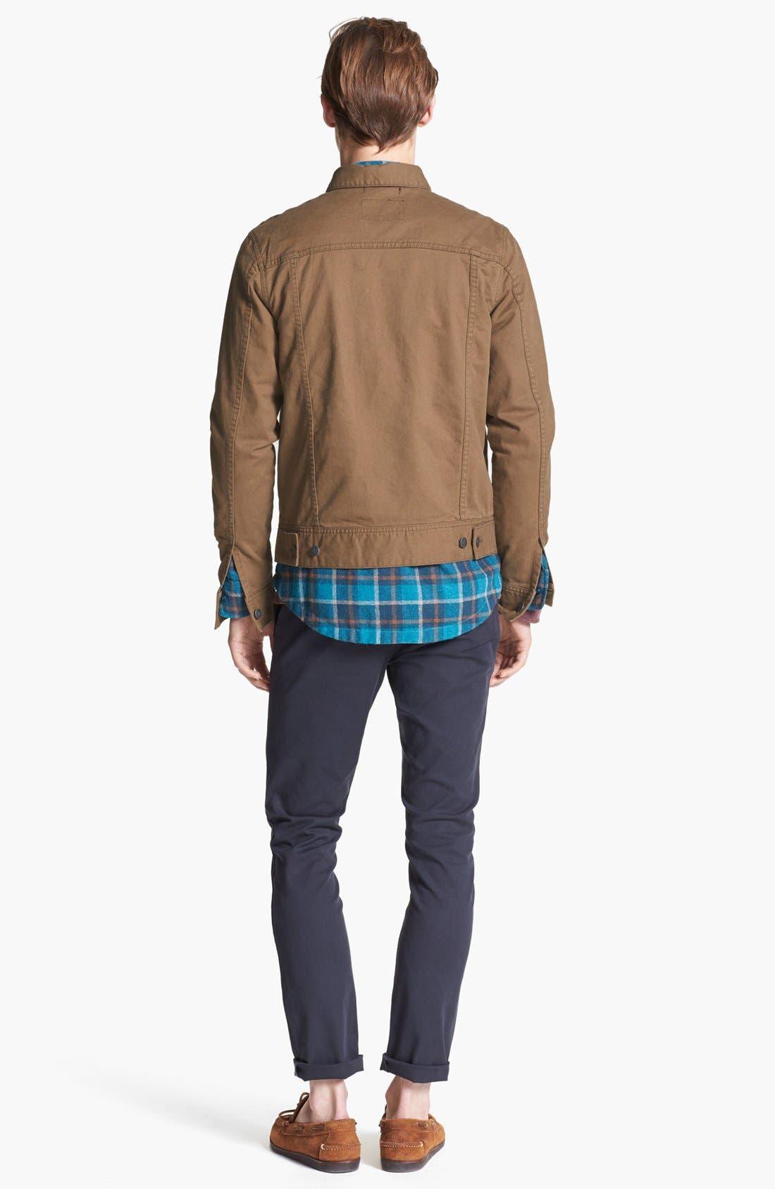 Alternate Image 5  - RVCA 'Jeano' Denim Jacket