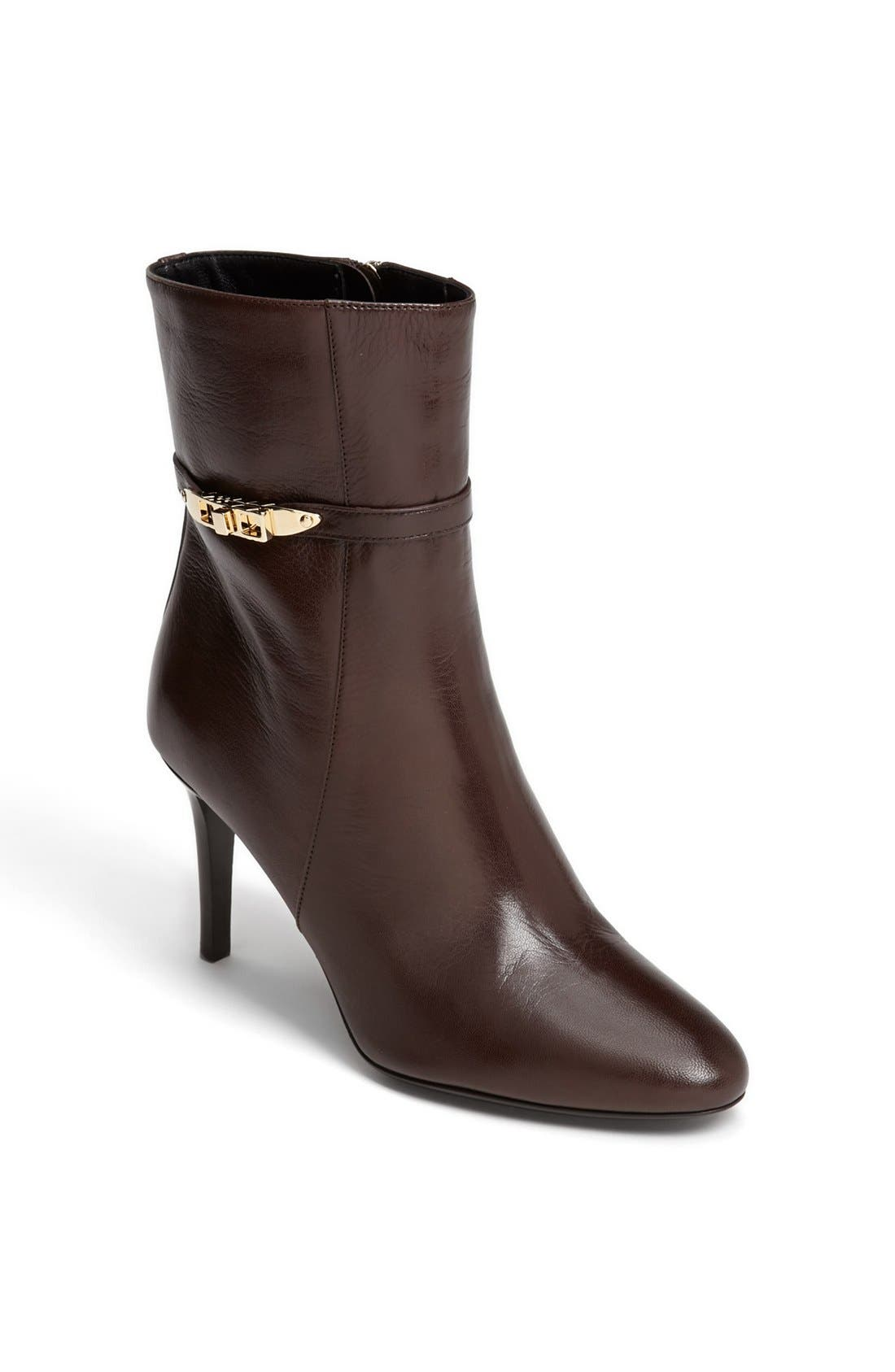 Main Image - Burberry 'Hainult' Leather Bootie