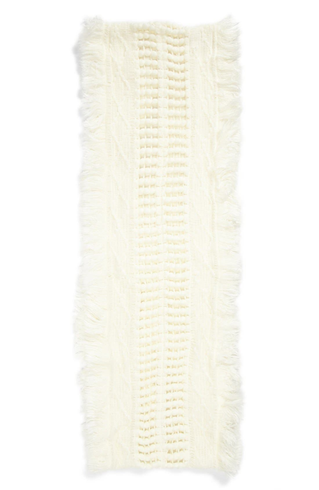 Alternate Image 2  - Capelli of New York Knit Infinity Scarf (Juniors) (Online Only)