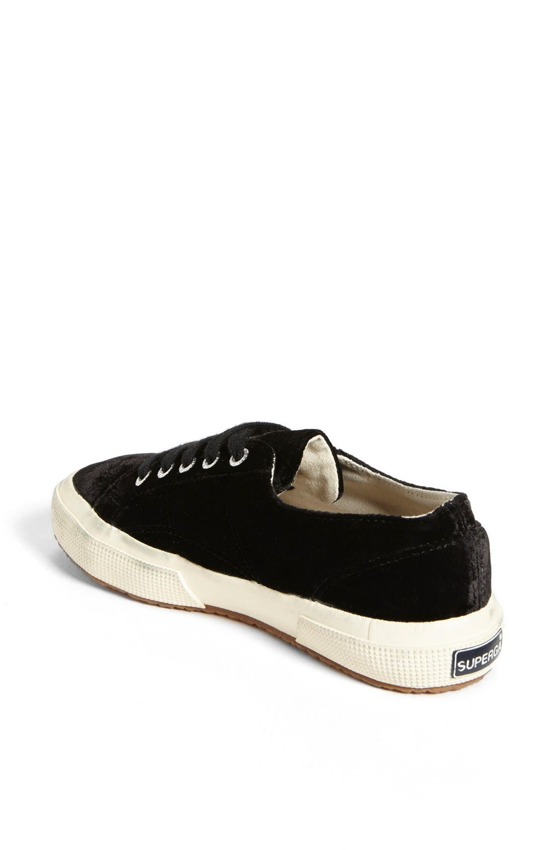 Alternate Image 2  - Superga Velvet Sneaker (Women) (Limited Edition)