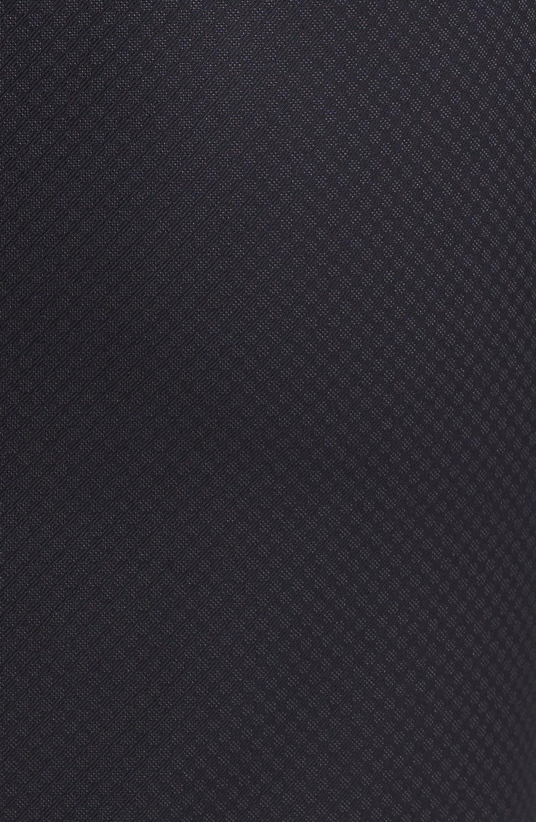 Alternate Image 5  - Halogen® Pleat Jacquard Suit Skirt