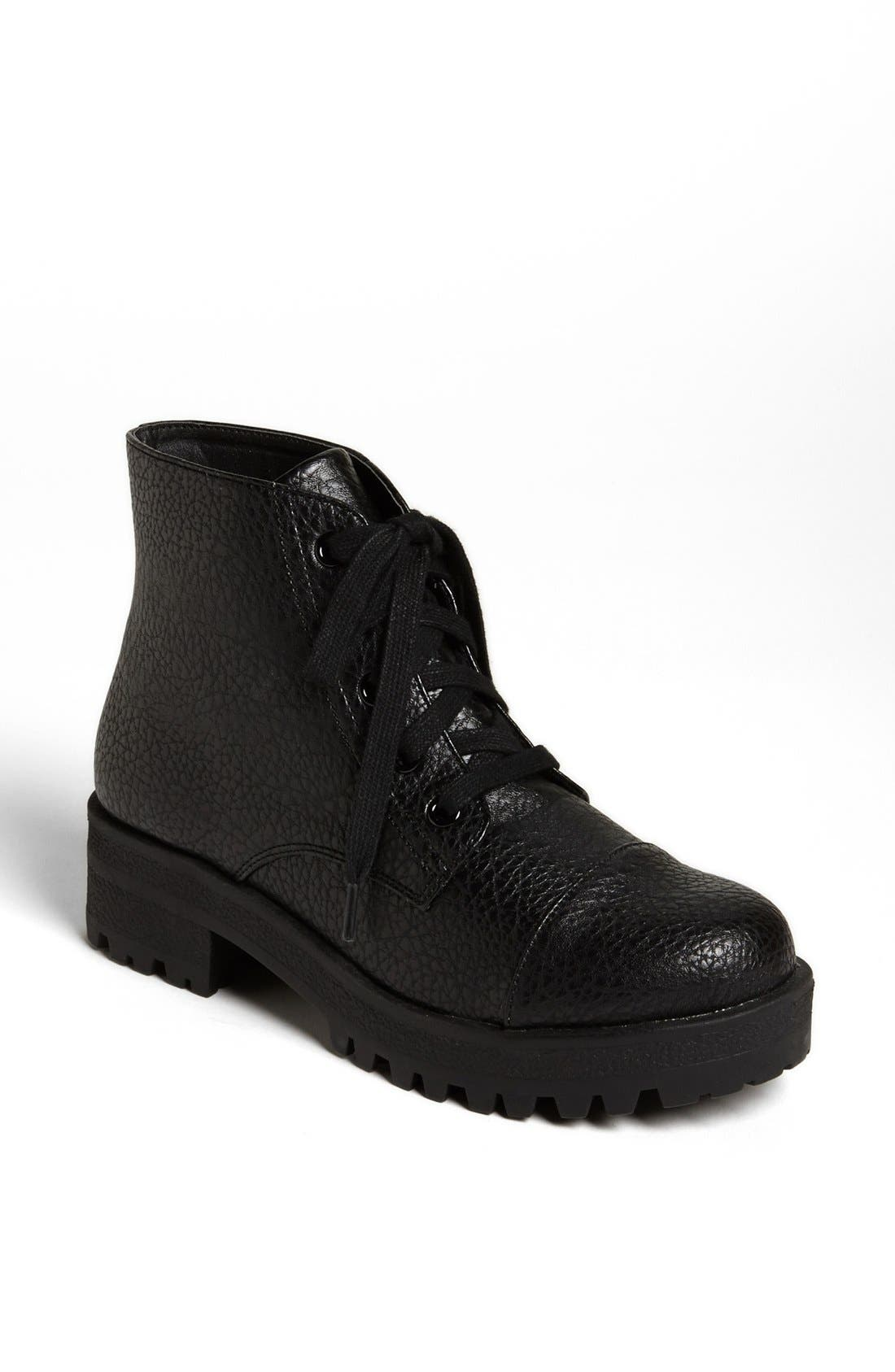 Alternate Image 1 Selected - Topshop 'Maxwell' Heavy Sole Boot