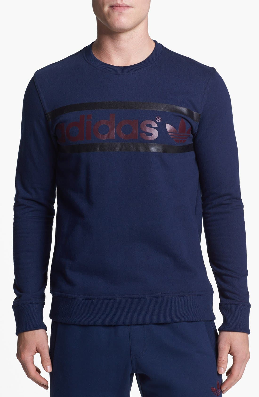 Main Image - adidas Originals Logo Sweatshirt