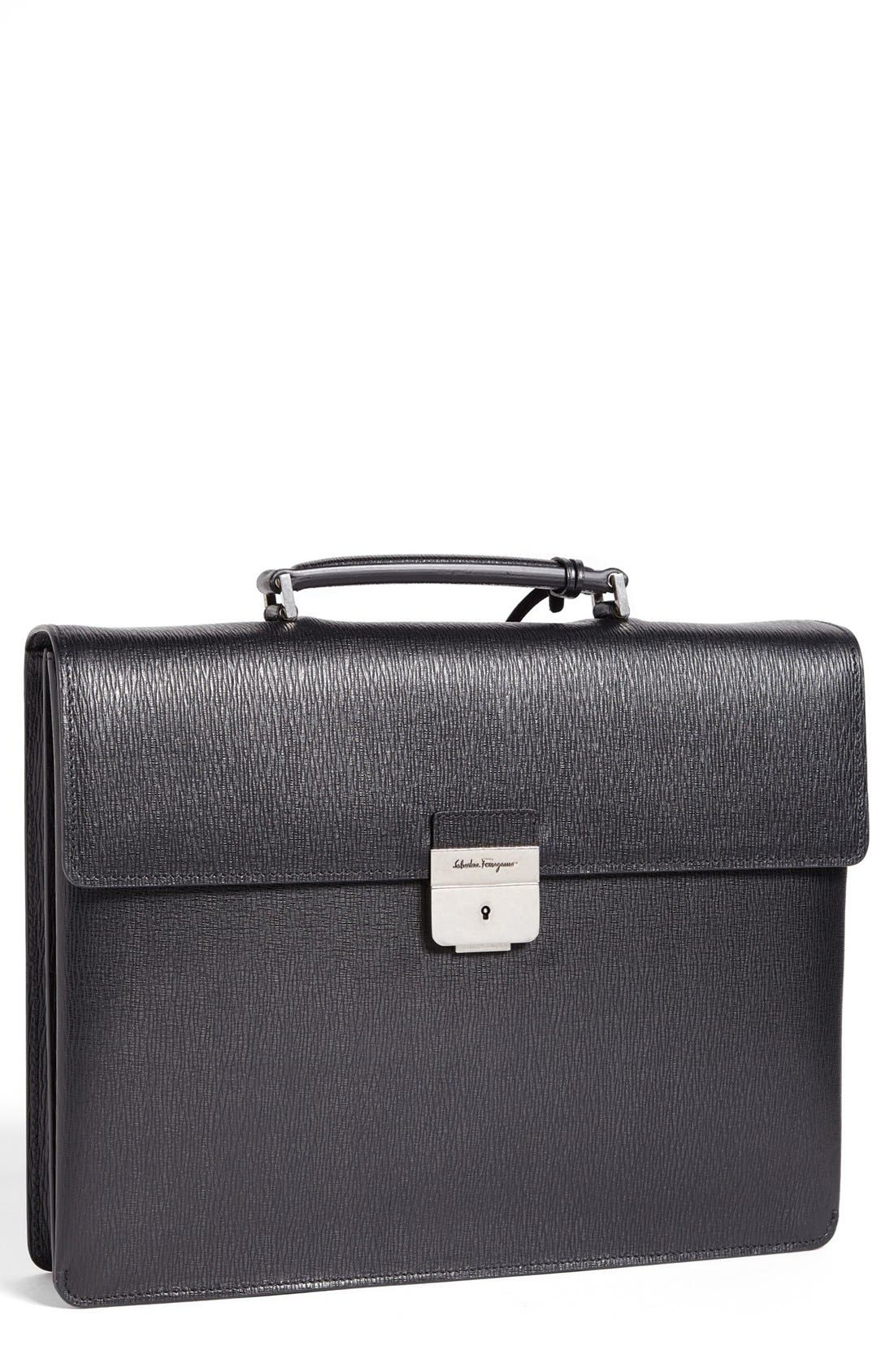 Alternate Image 1 Selected - Salvatore Ferragamo 'Revival' Briefcase