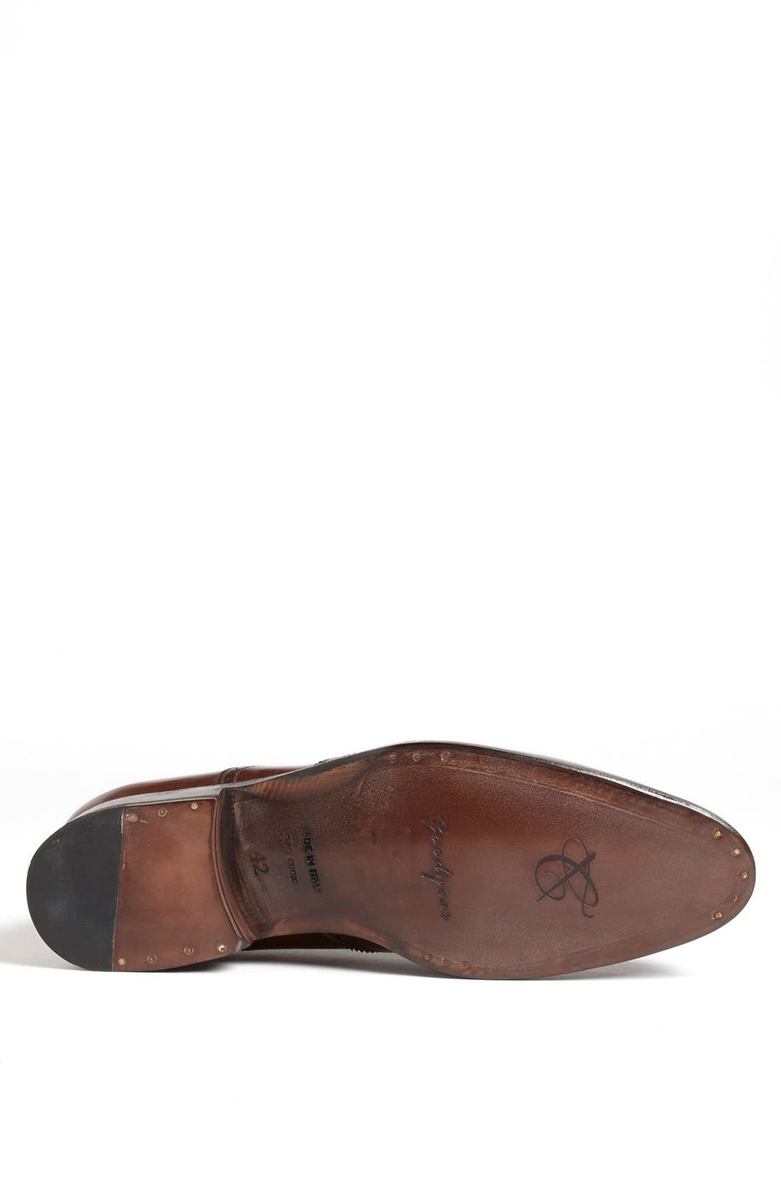 Alternate Image 4  - Canali Leather Wingtip (Men)