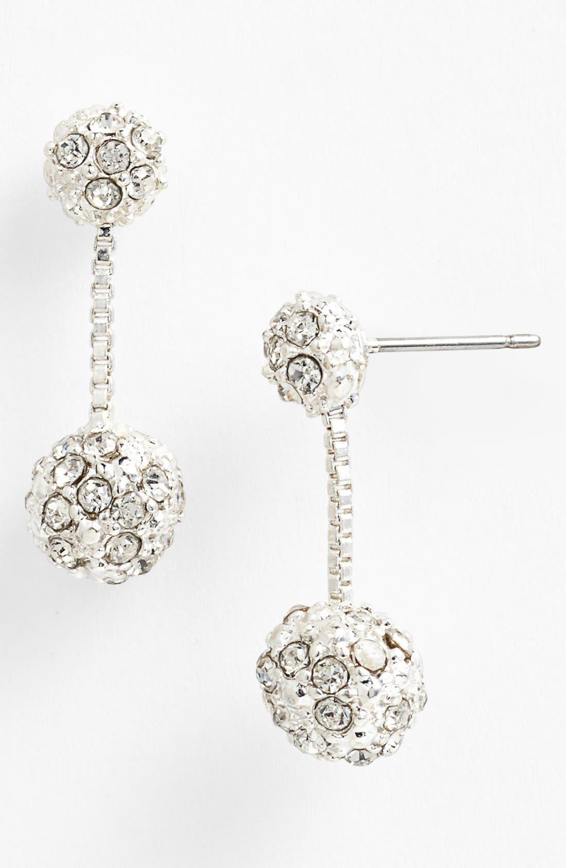 Alternate Image 1 Selected - Anne Klein Fireball Drop Earrings