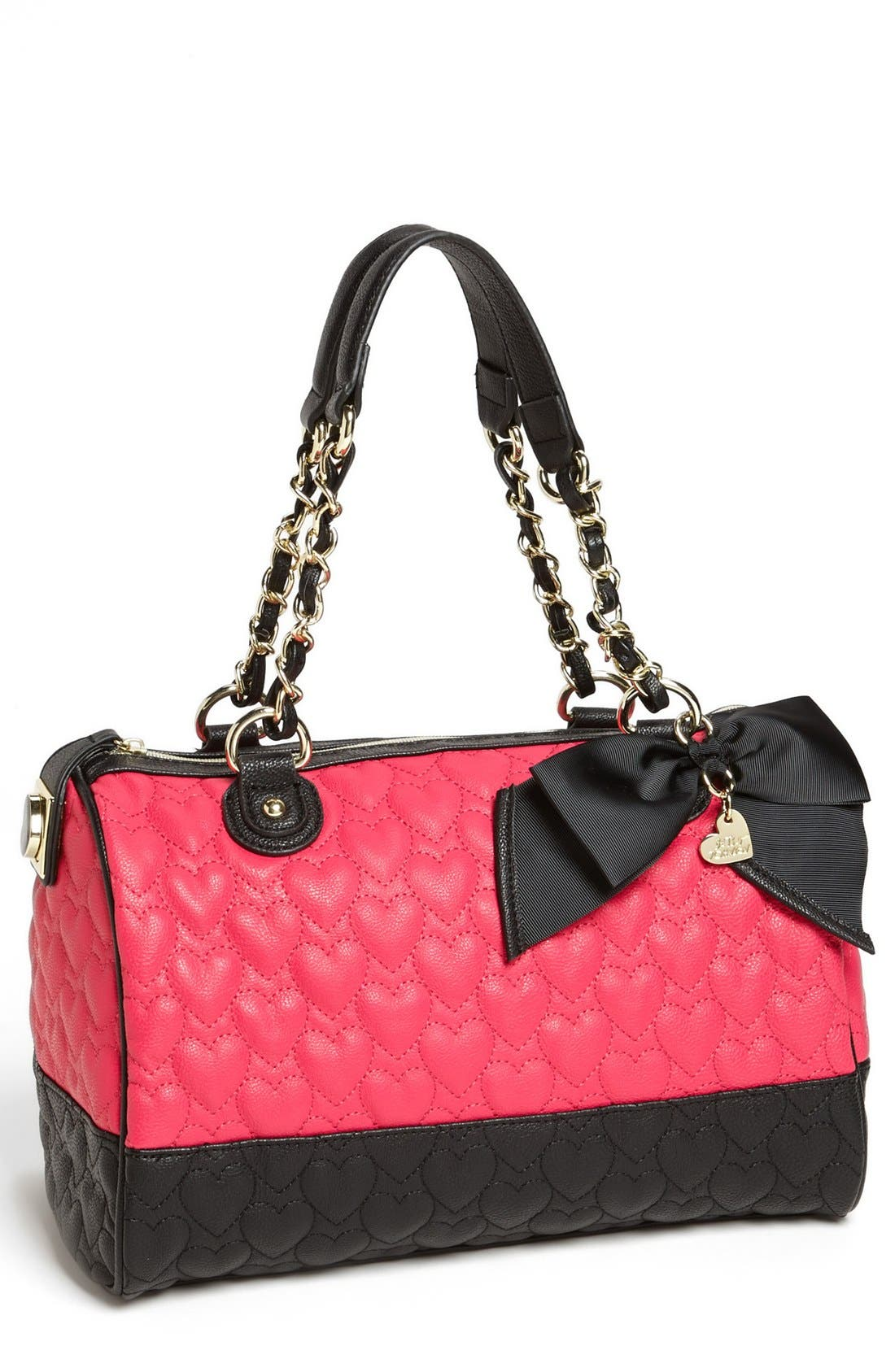Main Image - Betsey Johnson 'Will You Be Mine' Satchel