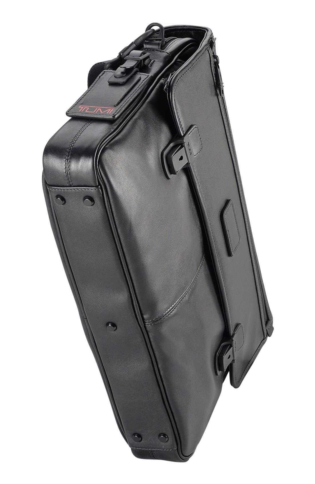 Alternate Image 4  - Tumi 'Alpha' Slim Flap Leather Briefcase