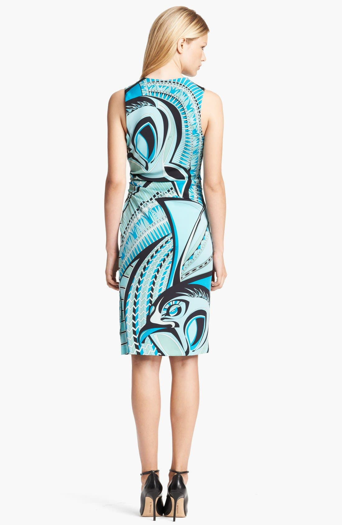 Alternate Image 2  - Emilio Pucci Double Stretch Georgette Dress