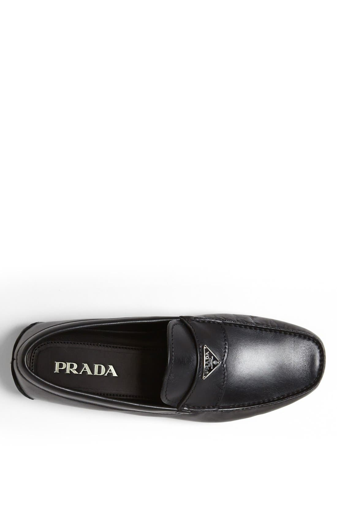 Alternate Image 3  - Prada Logo Bit Driving Shoe (Men)